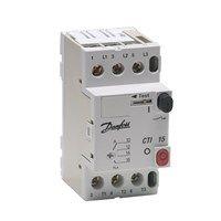 047B3051 Выключатель автоматический CTI 15, 0,25-0,4 А, 0,09 кВт при 380-415 В (АС-3) Danfoss