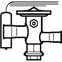 068U2204 TUA Клапан терморегулирующий Danfoss