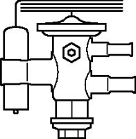 068U2203 TUAE Клапан терморегулирующий Danfoss