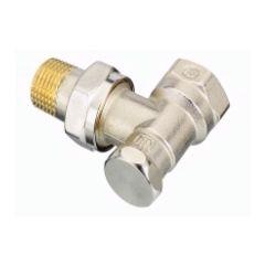003L0123   RLV-S Клапан запорный -Ду 15, угловой Danfoss
