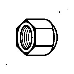 011L1101 NS 4-4 Гайка Danfoss